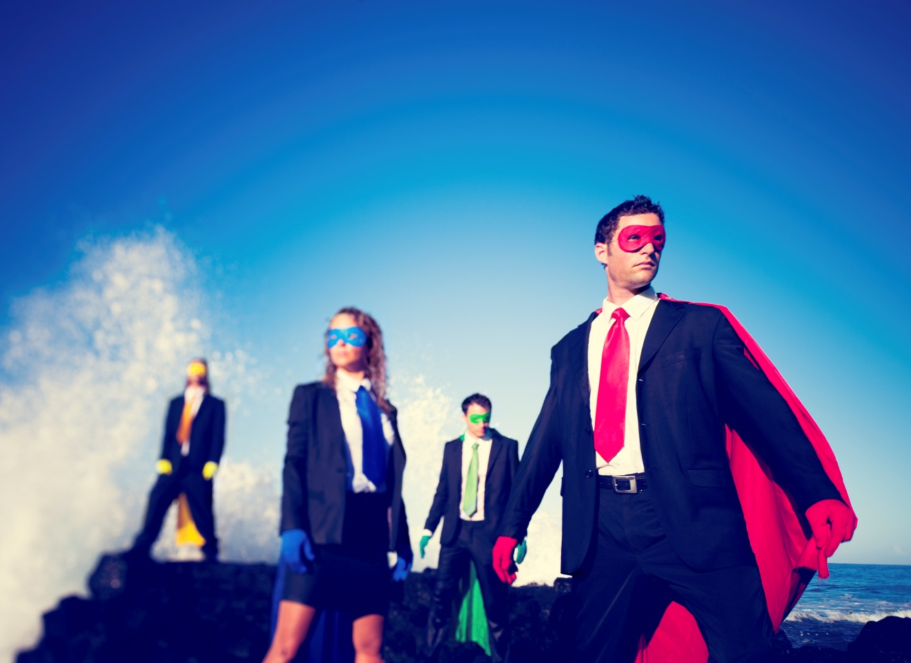 Four Business Superheroes