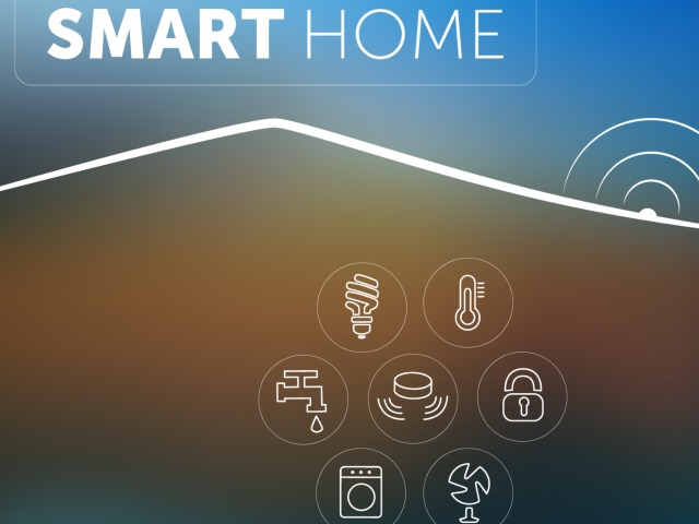 illustrasjon av smart home